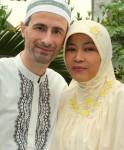 Stefano e la moglie Bayu