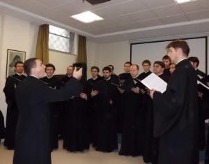 Il Coro del Pontificio Collegio Pio Romeno