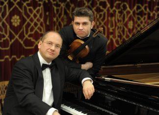 Il violinista Remus Azoitei e il pianista Eduard Stan