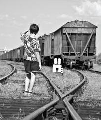 """Locandina dello spettacolo """"Gente di nessuno"""" di Dumitri Crudu"""