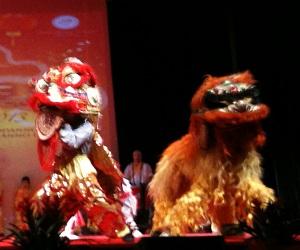 La danza dei leoni