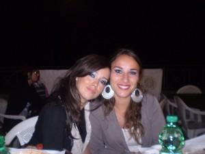 Iliana con amica