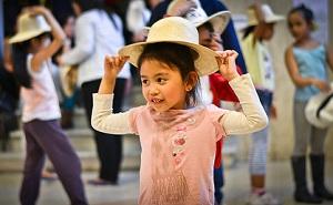 I bambini interpreteranno canzoni e balli filippini e internazionali