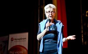 Paola Piva, Presidente di Piuculture, presenta la nuova sezione in rumeno del giornale