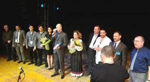 Artisti e Organizzatori del concerto Romit tv