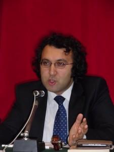 Mustafa Cenap Aydin, direttore dell'Istituto Tevere