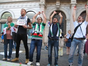 Ragazzi siriani