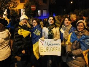 manifestazione ucraini Roma