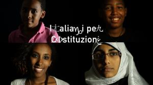 Italiani per Costituzione - quattro ragazzi italiani e