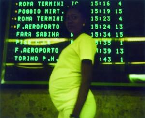 Simona Filippini - Air terminal Ostiense (polaroid) dal sito www.camera21.net