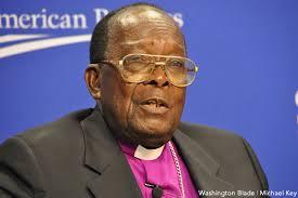 Bishop Senyonjo, fra i pochi sostenitori nel clero dei diritti degli omosessuali
