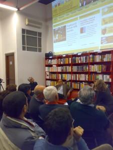 Lancio del giornale PiuCulture alla Libreria Rinascita - 10 febbraio 2011