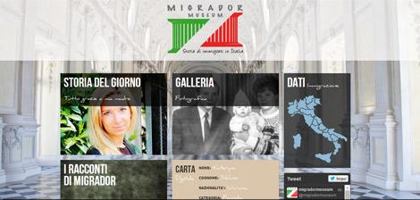 Migrador: il primo museo virtuale sull'immigrazione in Italia