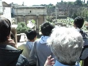 Tour Roma ragazzi scuola Piuculture