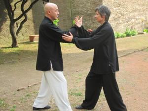 Dimostrazioni durante la giornata mondiale del taiji quan e del qi gong