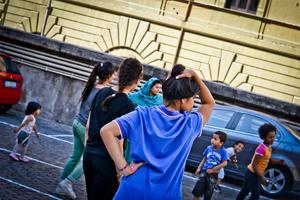 Sgomberata occupazione a Torre Spaccata: 35 famiglie si rifugiano nella basilica di Santa Maria Maggiore