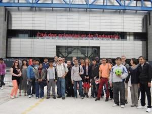 Giovani rifugiati al Museo della Scienza e della Tecnica con Welcome