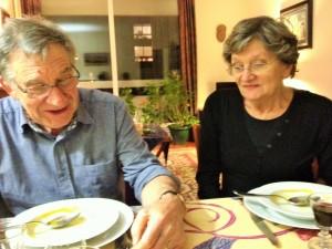 L'accoglienza di Brigitte e Michel Donzel