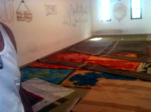 Moschea nel CIe di Ponte Galeria