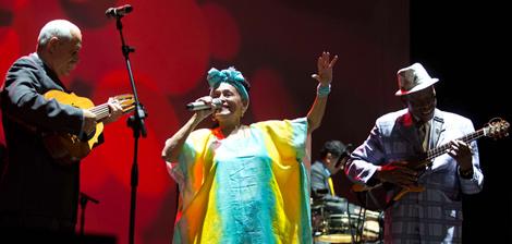 L'Orquesta Buena Vista Social Club si è esibita il 17 luglio all'Auditorium Parco della Musica di Roma per l'Adios Tour che li porterà per l'ultima volta in Europa