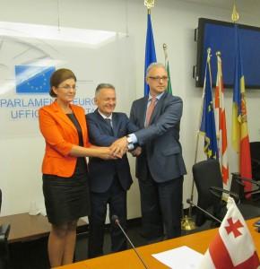 Gli ambasciatori della Moldova, Georgia, Ucraina