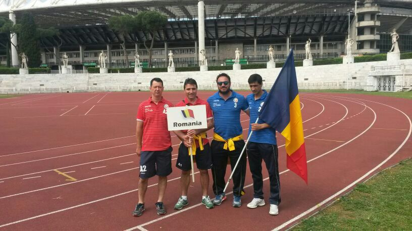 Rappresentanza squadra Romania al Mundialido