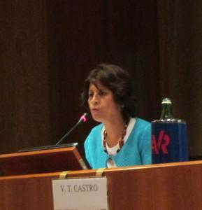 Victoria Terrones Castro, imprenditrice peruviana nel settore servizi e Vicepresidente Confcooperative Roma