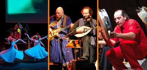 Il 2 agosto all'Auditorium Parco della Musica un viaggio musicale nel Mediterraneo tra tammurriate, canti in libertà e dervisci rotanti