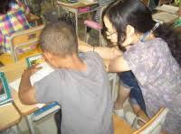 collaborazione fra alunni di paesi diversi