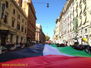 Palesina libera manifestazione a Roma