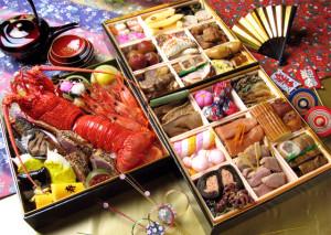 osechi - piatto della cucina giapponese tipico della festa di capodanno - foto: wikipedia