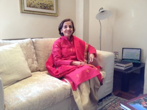 L'Ambasciatore del Pakistan Tehmina Janjua