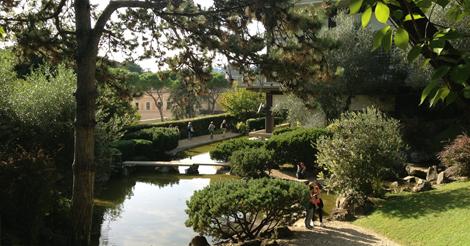 Giardino giapponese di roma visite guidate gratuite