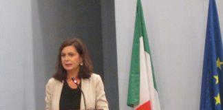 Laura Boldrini alla Moschea di Roma
