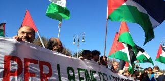 Palestina libera: in migliaia alla manifestazione a Roma