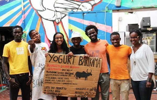 I giovani della cooperativa Barikamà
