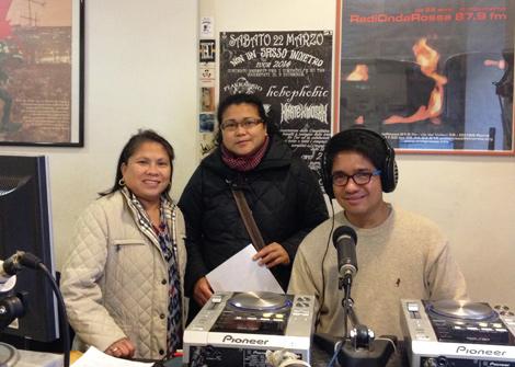 Siamo intervenuti come ospiti al programma Bato-Bato su Radio Onda Rossa per raccontare alla comunità delle Filippine a Roma Infomigranti, corso gratuito di giornalismo per migranti e figli di migranti