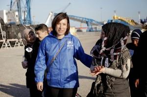 Carlotta Sami, portavoce dell'UNHCR