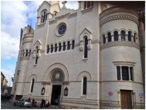 Il tempio Valdese di piazza Cavour a Roma