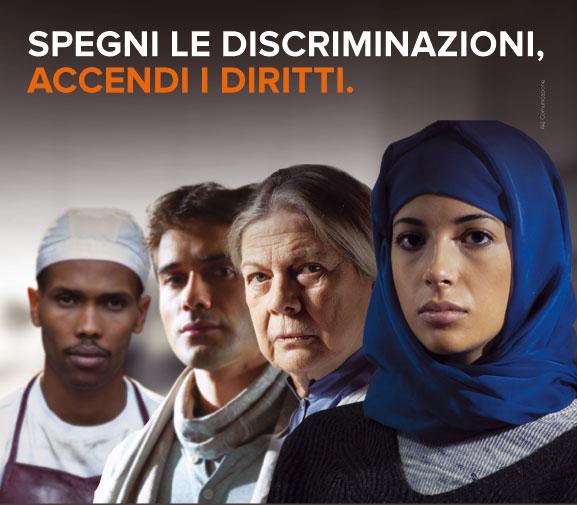 Locandina anti discriminazioni Unar