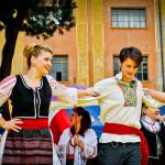 Concerto multiculturale per la maratona di Roma con il gruppo Artaras