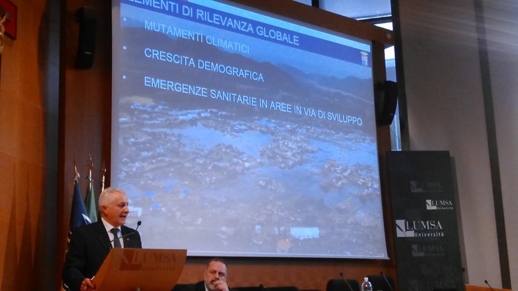 Enrico Pacioni, capo ufficio stampa Marina Militare