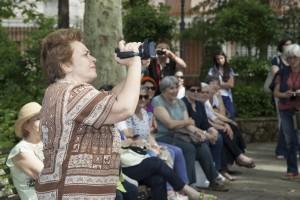 Maria Grazia Lo Cicero e la sua telecamera