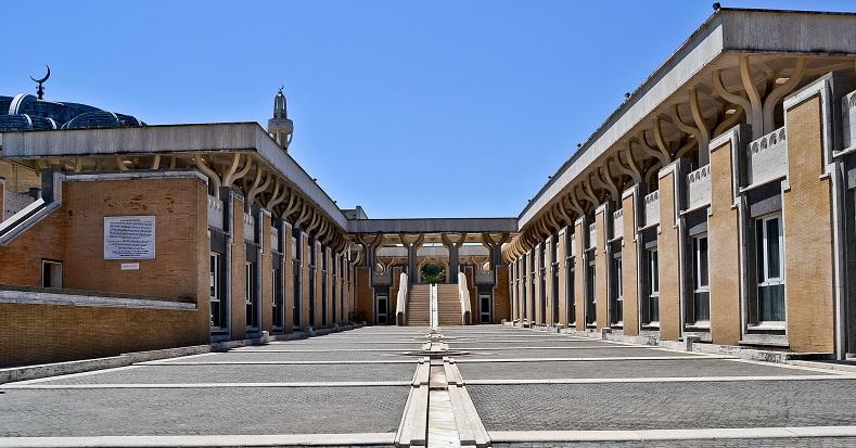 La grande moschea di Roma - Foto di Vittoria Mannu per Piuculture