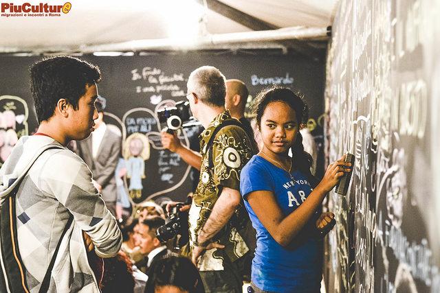 Comunità filippina, foto di Vittoria Mannu