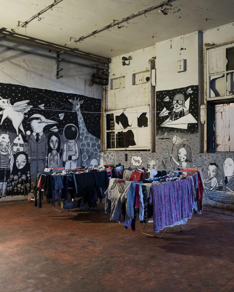 MAAM – Il nucleo abitativo dei rom – photo Giuliano Ottaviani