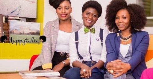 ragazze afro italiane della community Afro Italian nappy girls
