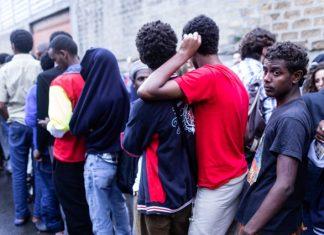migranti in transito a Roma