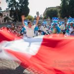 flash mob Perù 2015: Costa, Sierra y Selva, organizzato dal Consolato Generale del Perù a Roma
