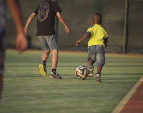 Mundialido 2015: torneo di calcio dedicato alle squadre migranti di Roma. Foto di Giuseppe Marsoner